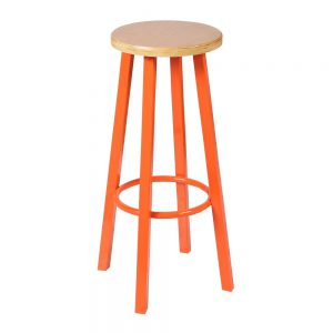 6600 Barkruk Oranje frame vanaf: