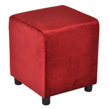 Block Classic Red Velvet 39x39cm