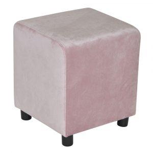 Block Granny Pink Velvet 39x39cm