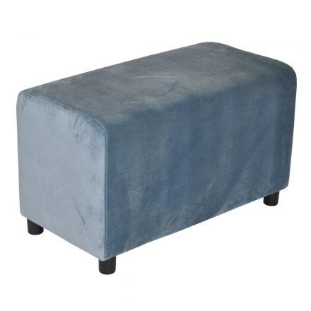 Brick Grandpa Blue Velvet 39x78cm