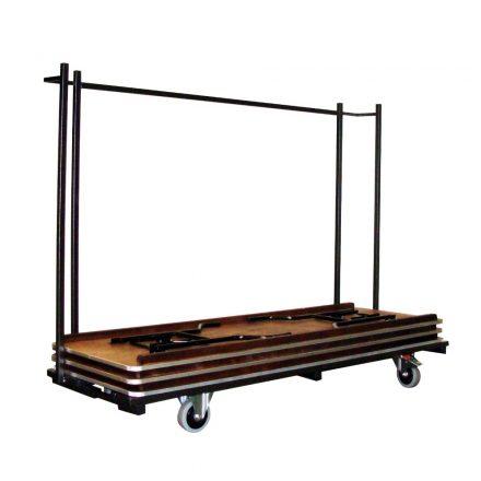Transportkar Bankettafels rechthoek 220x76cm