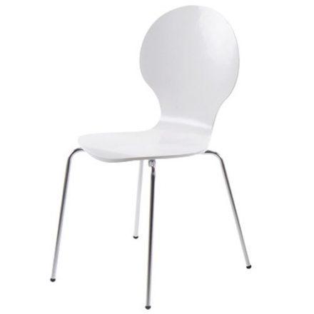 Set van 4 Vlinderstoelen Wit
