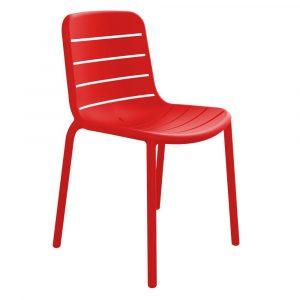 Gina terrasstoel rood vanaf: