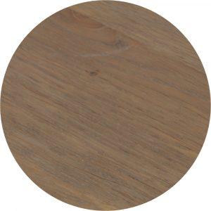Tropisch hardhouten Tafelblad 70x70cm Bruin