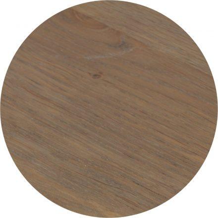 Tropisch hardhouten Tafelblad Ø70cm Bruin