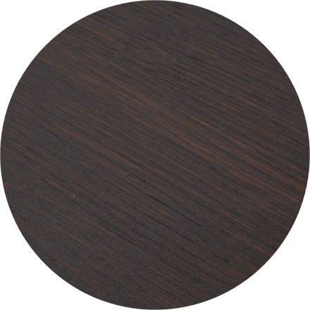 Tropisch hardhouten Tafelblad 70x70cm Donkerbruin