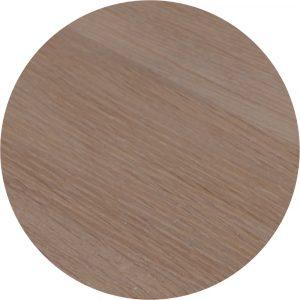 Tropisch hardhouten Tafelblad Ø70cm Grijs