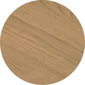 Tropisch hardhouten Tafelblad 110x70cm Lichtbruin
