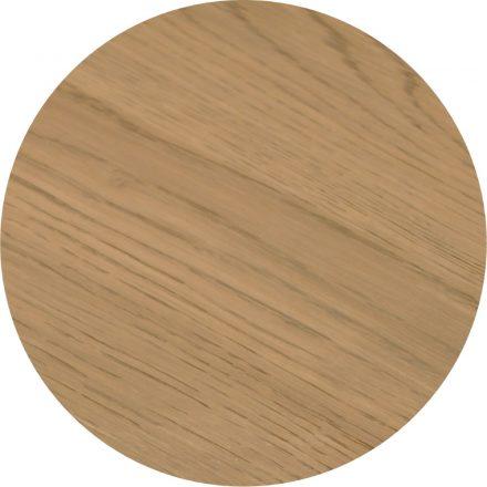 Tropisch hardhouten Tafelblad Ø70cm Lichtbruin