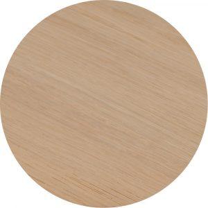 Tropisch hardhouten Tafelblad 70x70cm Natuur