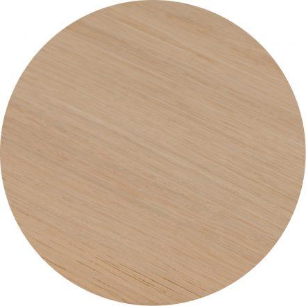 Tropisch hardhouten Tafelblad 110x70cm Natuur