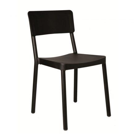 Lisboa terrasstoel zwart vanaf: