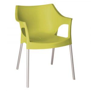 Pole terrasstoel lime vanaf: