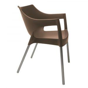 Pole terrasstoel taupe vanaf: