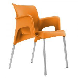 Sun terrasstoel oranje vanaf: