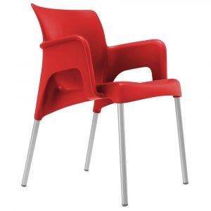 Sun terrasstoel rood vanaf: