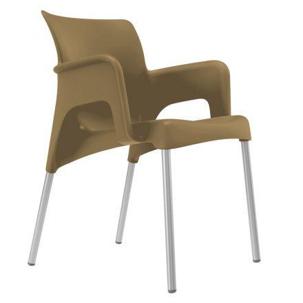Sun terrasstoel taupe vanaf:
